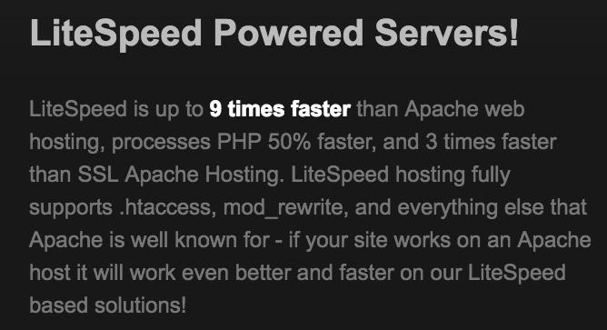 LiteSpeed servers