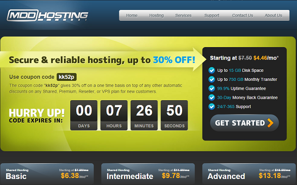 cheap hosting #4 - MDD Hosting