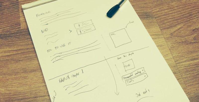 Scratch together a wireframe