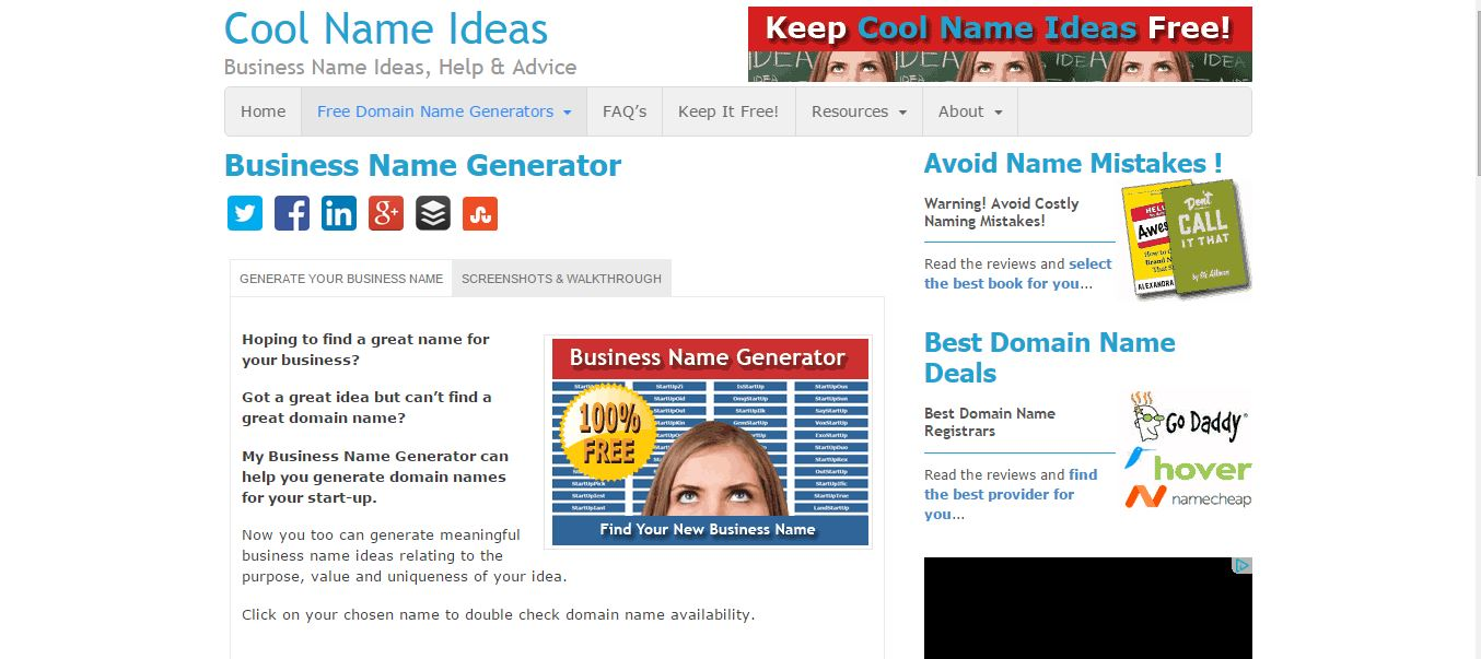 15 Best Domain Generators for 2019 | HostingFacts com
