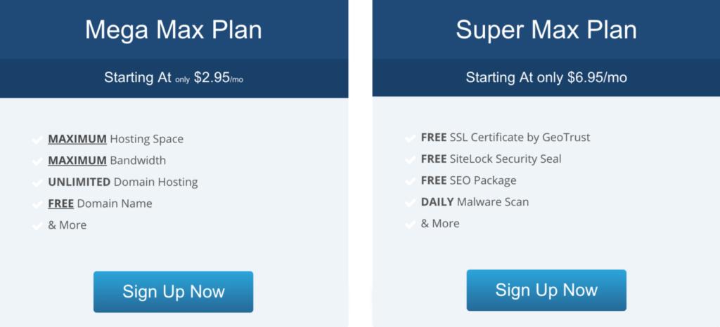 hostmetro web hosting plans
