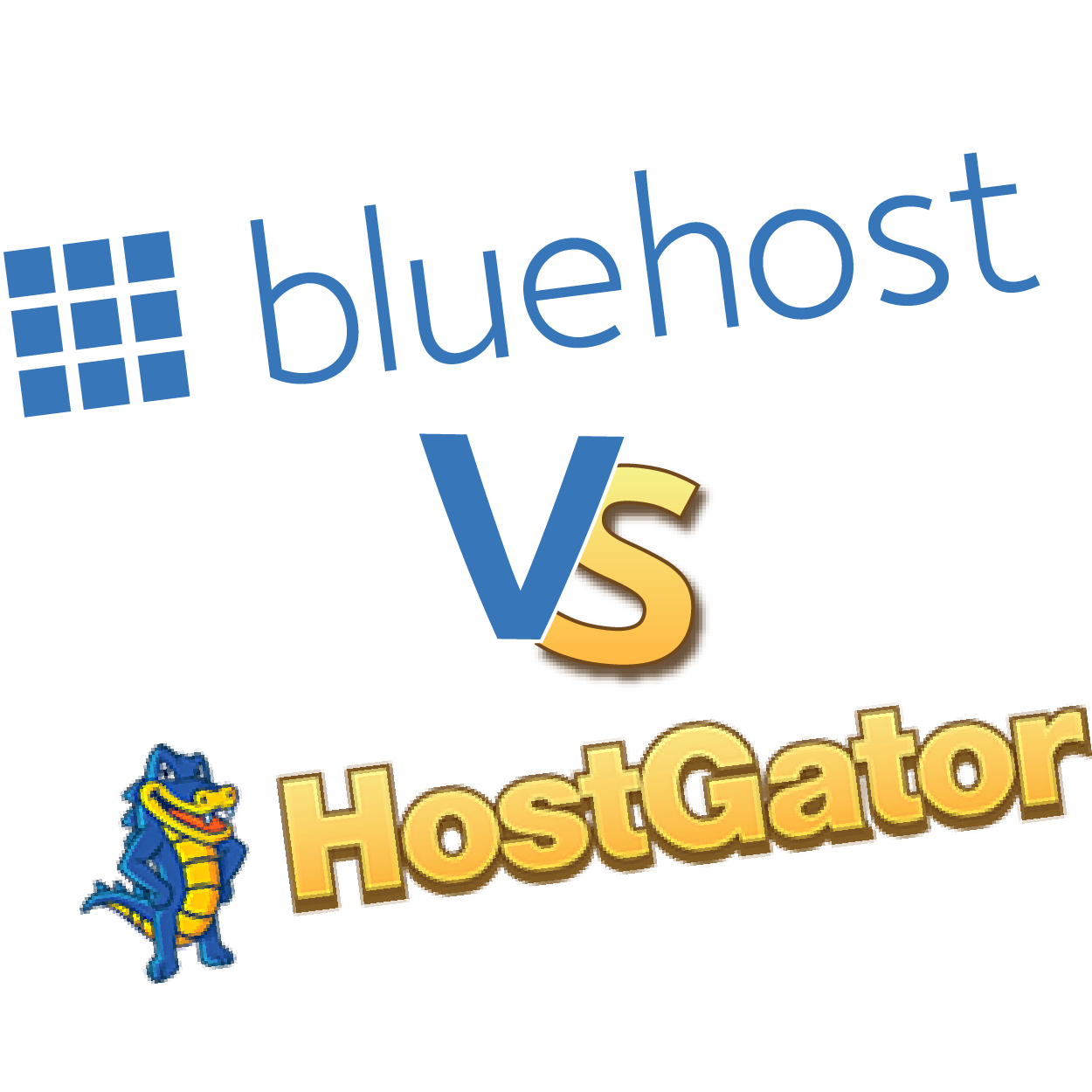 hostgator vs godaddy vs bluehost