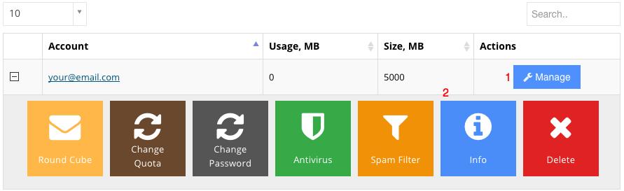 hostinger email settings