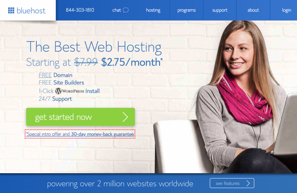 Bluehost review-Top 20 Web Hosting Offers 2018
