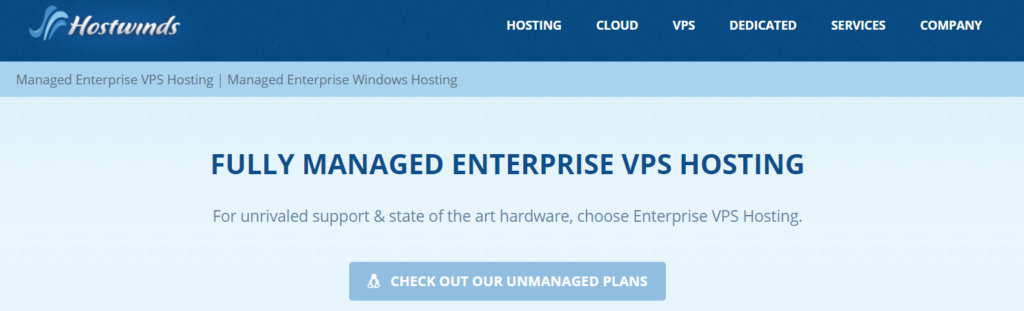 Hostwinds fully managed hosting: best VPS hosting