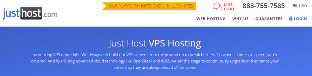 Just Host: best VPS Hosting