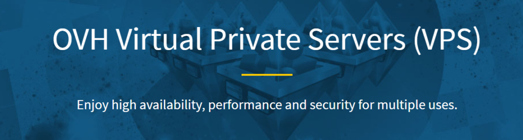 OVH Virtual Private Servers: best VPS hosting