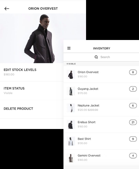 Squarespace online store example