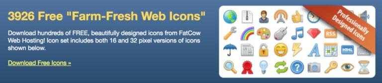 FatCow web icons