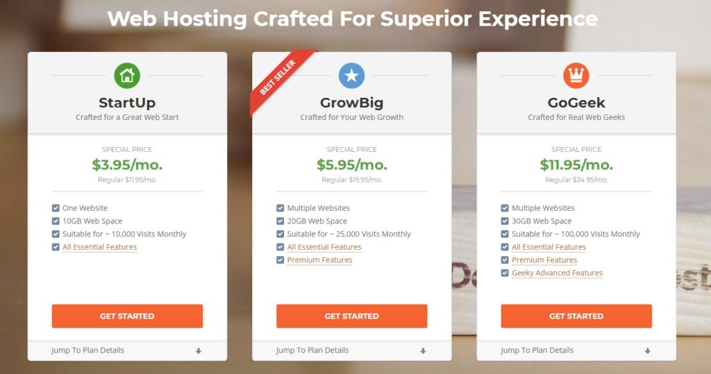 SiteGround Pricing, Hosting Plans & Quick Facts