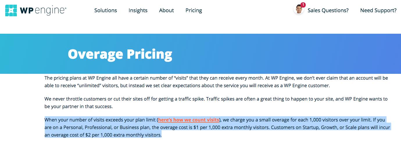 overuse billing