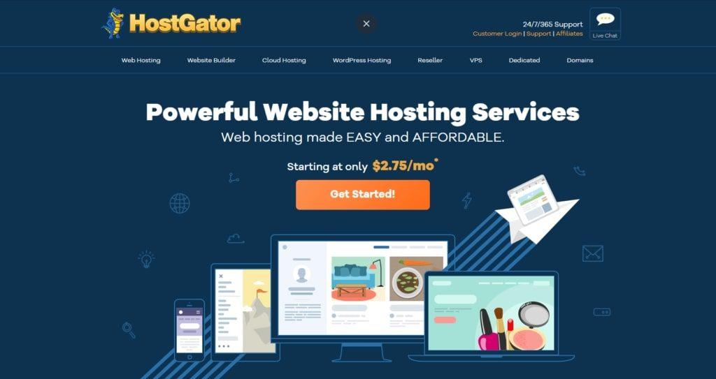hostgator tra i migliori hosting dedicati