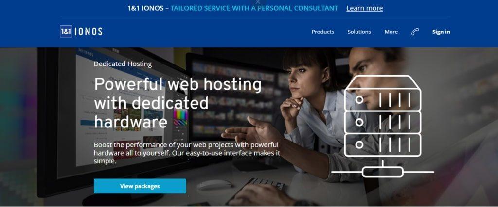 IONOS 1&1 review