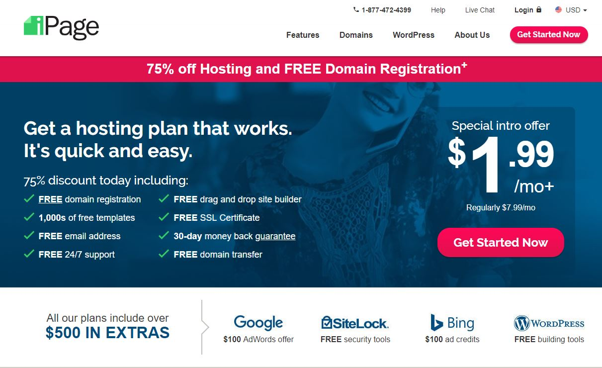 free domain registration and free web hosting in india