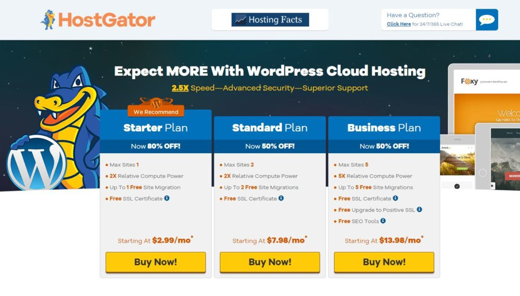 HostGator Cloud review