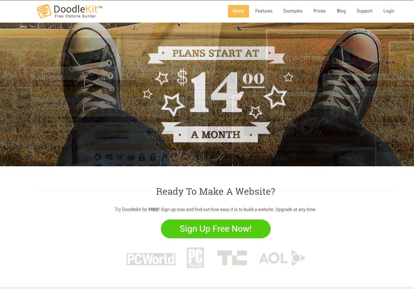 DoodleKit Homepage
