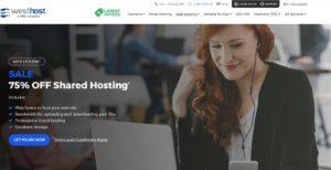 Westhost homepage