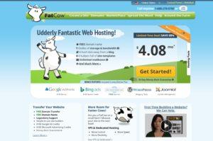 fatcow homepage
