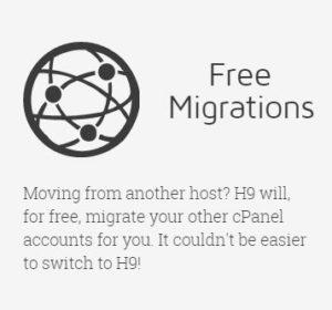 hostnine free migrations
