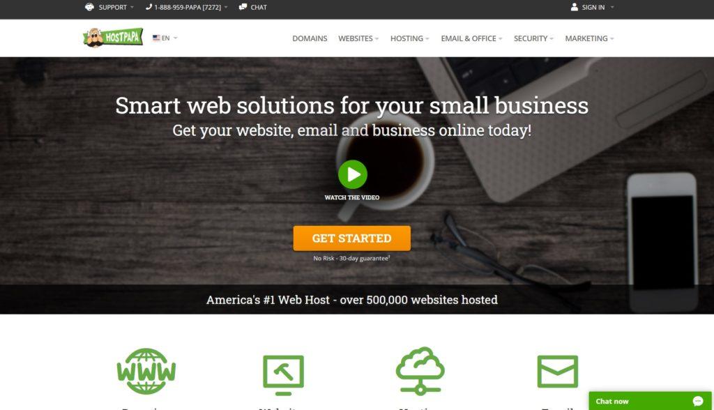 hostpapa hosting review