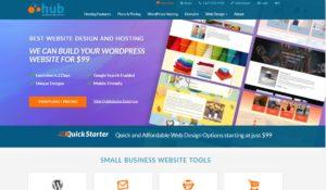 webhostinghub homepage