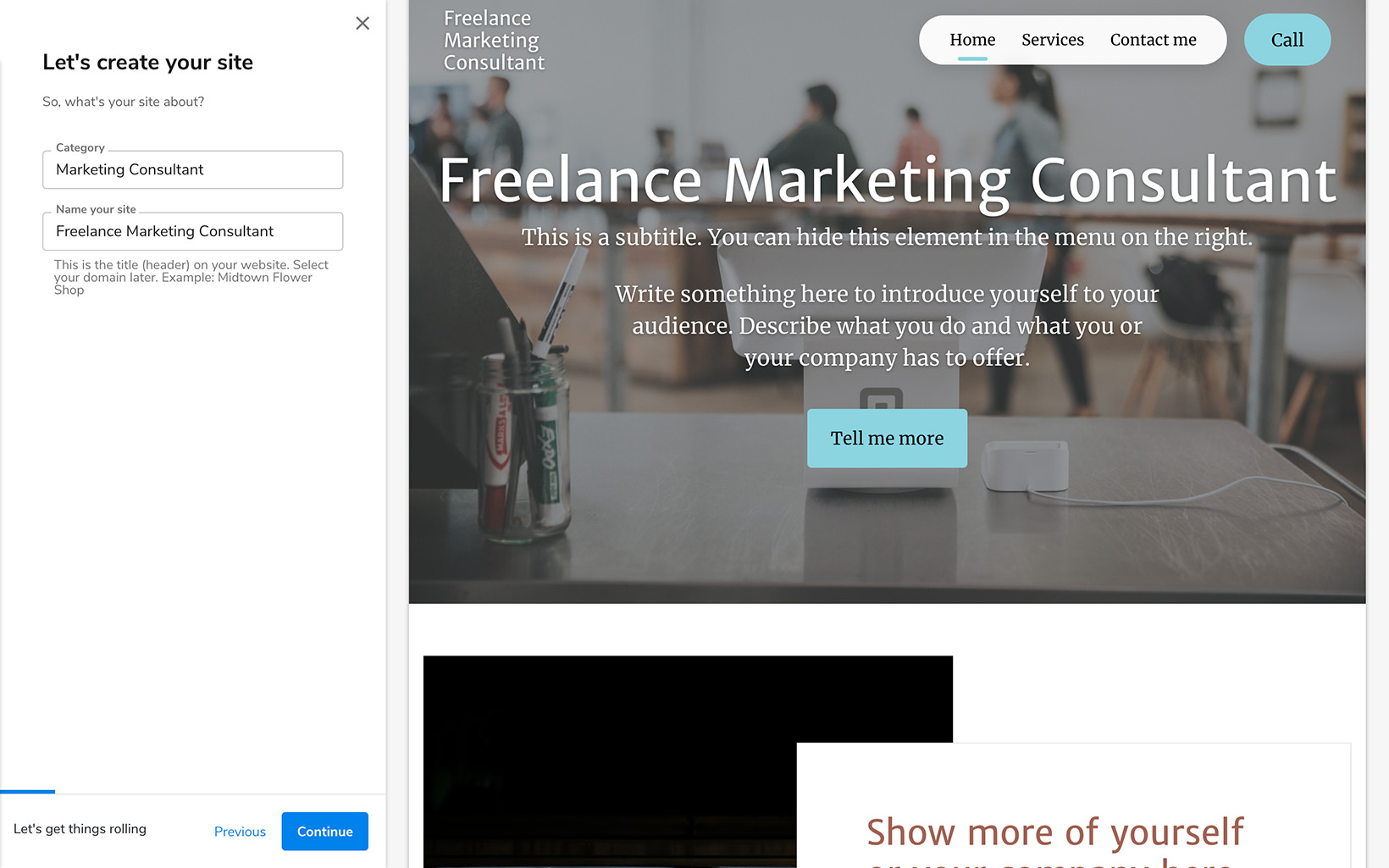 Constant Contact Online Designer