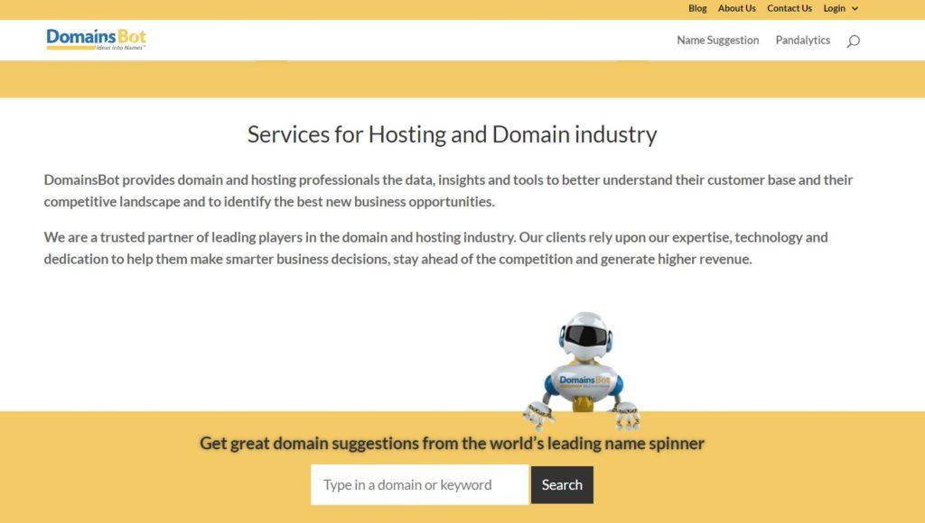 domainsbot generator