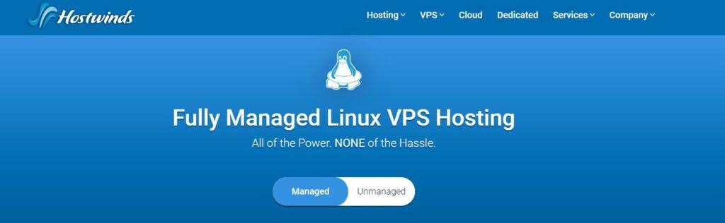 Hostwinds fully managed hosting: best VPS hosting