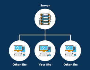 how shared hosting works