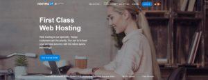 Hosting24 homepage