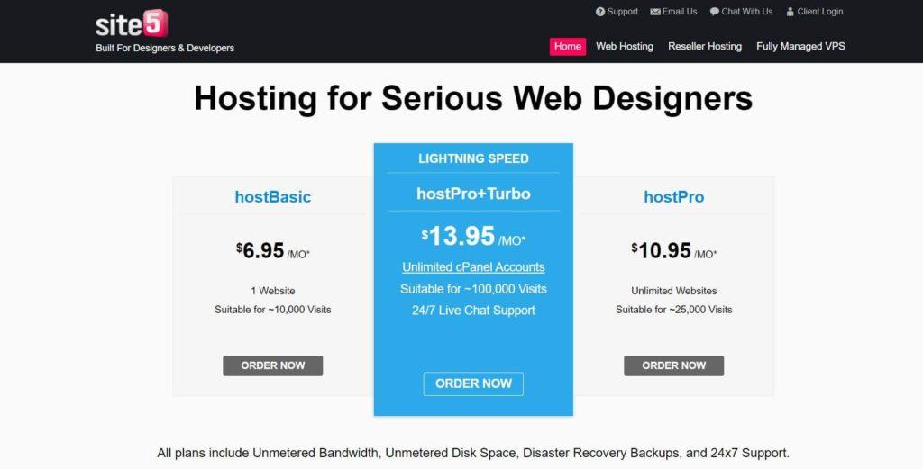 Site5 hosting review