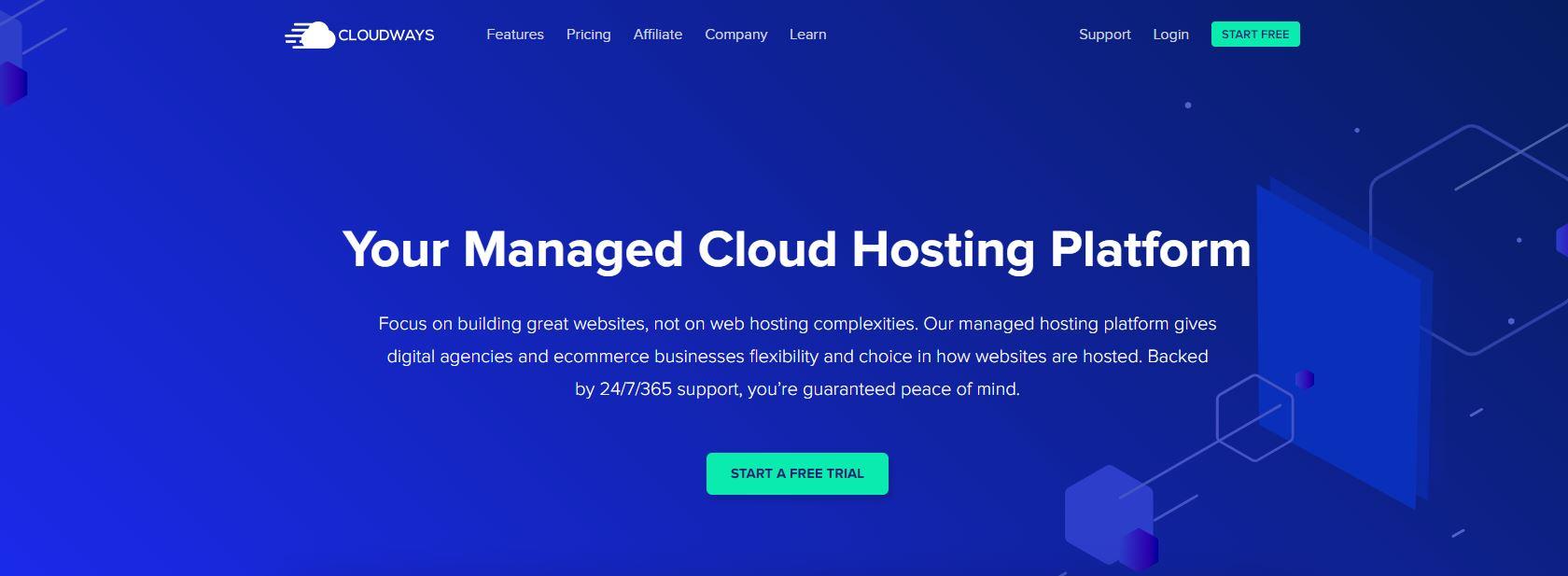 CloudWays cloud hosting