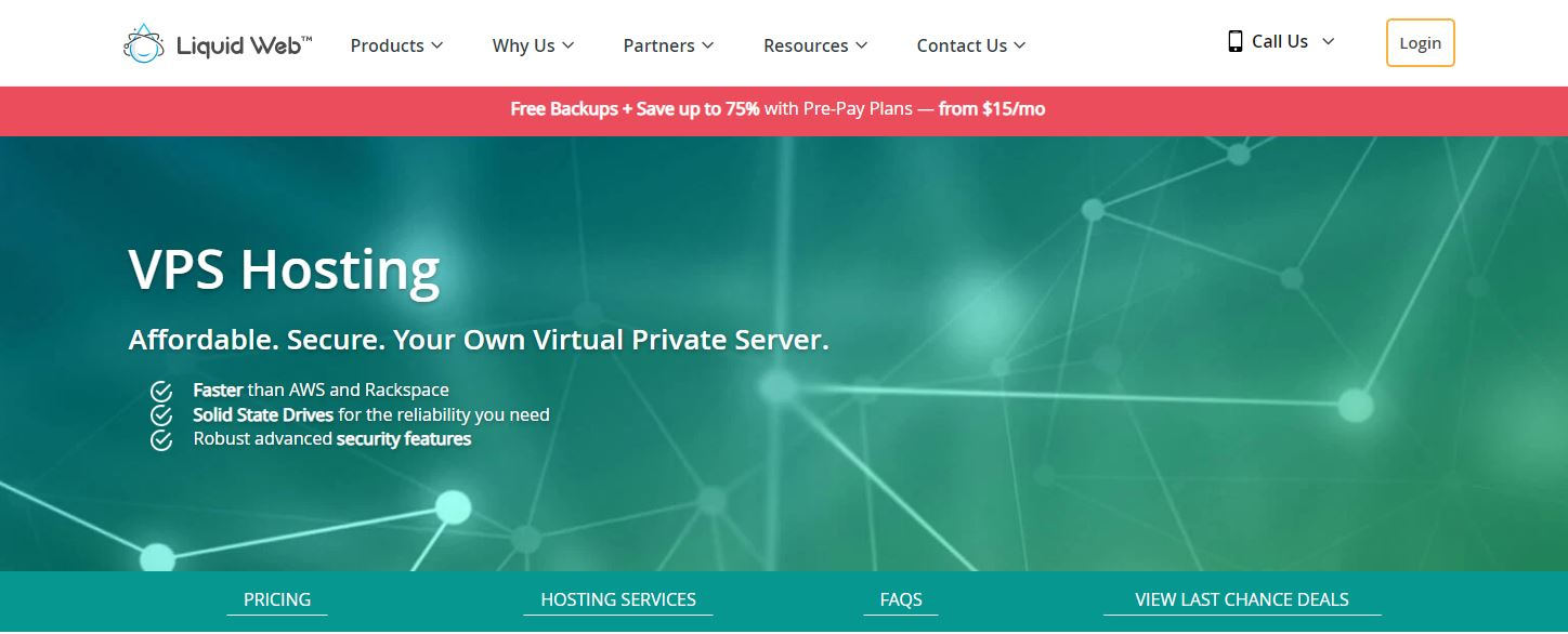 Virtual Private Server Unlimited data traffic Linux VPS - SSD 10 GB