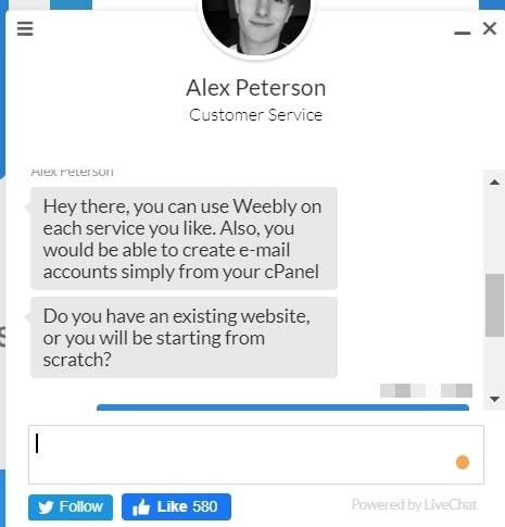 TMDhosting live chat 2