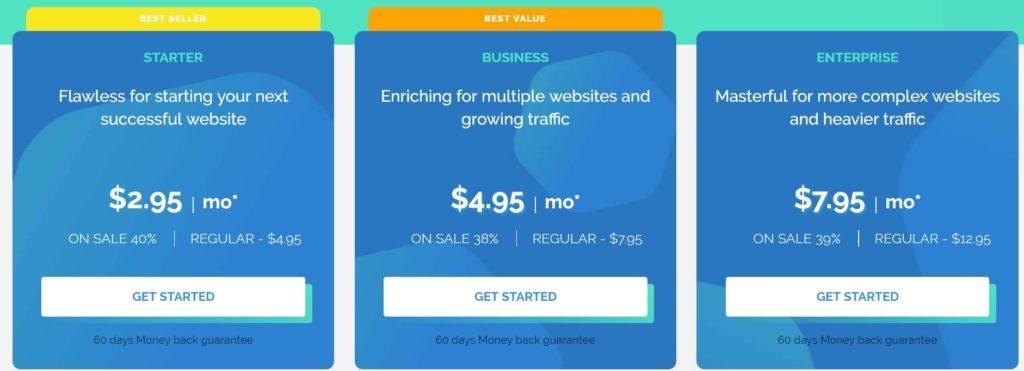 TMDhosting pricing Linux