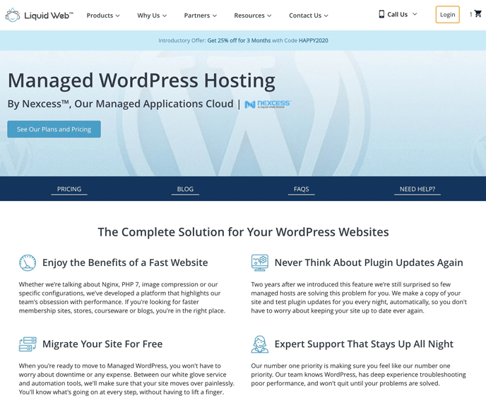Liquid Web Managed WordPress